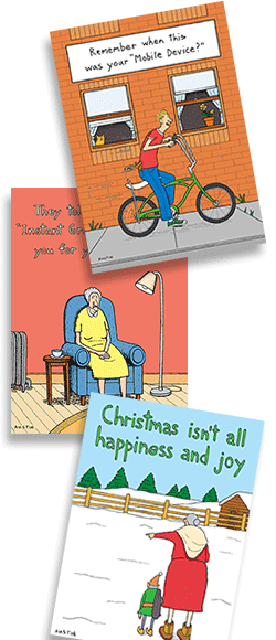 wholesale greeting cards from Snafu
