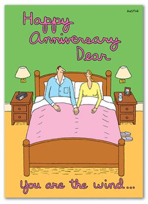 Snafu Anniversary Card A015