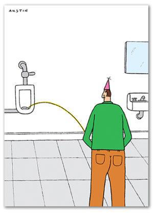 Funny Birthday Card from Snafu BD116
