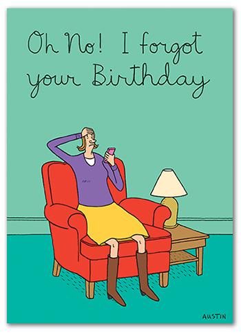 Snafu Birthday Card BD194