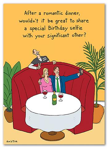 Snafu Birthday Card BD205