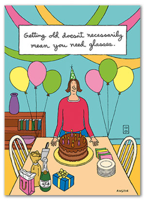 Snafu Birthday Card BD211