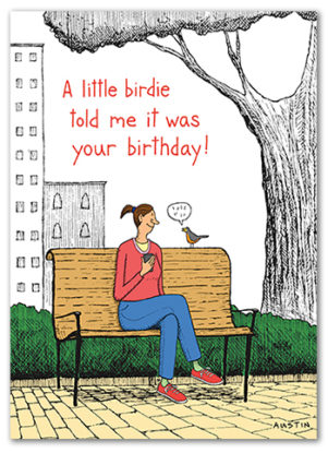 Snafu Birthday Card BD217