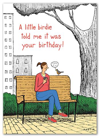 Snafu Birthday Card BD217
