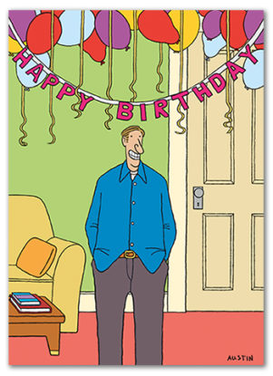 Snafu Birthday Card BD225