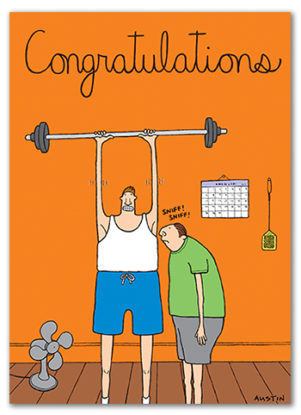 C005 Snafu Congratulations Card