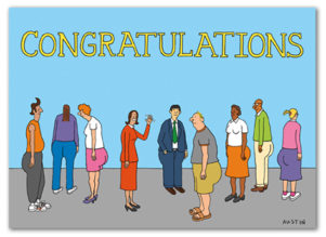 C014 Snafu Congratulations Card