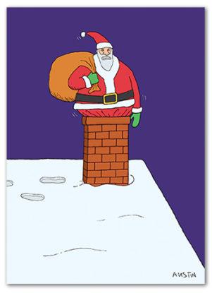 Snafu Christmas Card CH001