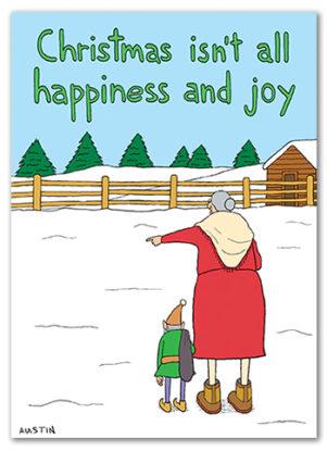 Snafu Christmas Card CH002