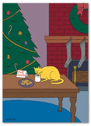 Snafu Christmas Card CH003