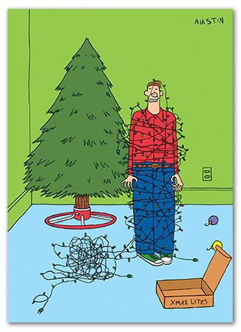 Snafu Christmas Card CH004