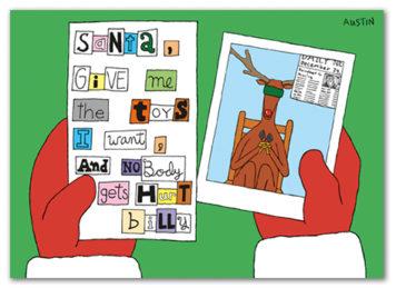 Snafu Christmas Card CH007