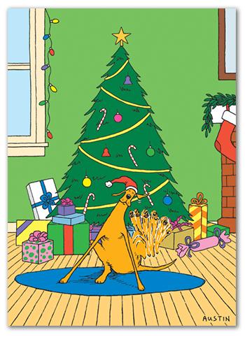 Snafu Christmas Card CH010