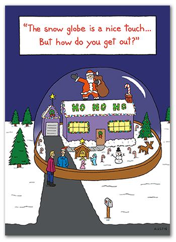 Snafu Christmas Card CH011