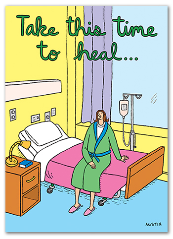 Snafu Get Well Card GW001