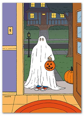 Snafu Halloween Card HW001