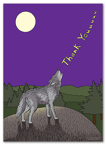 Funny Thank You Card TY016
