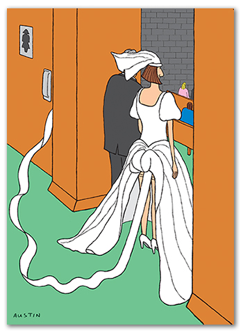 Snafu Wedding Card W005