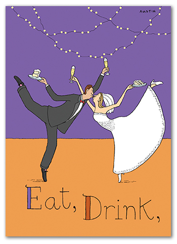Snafu Wedding Card W011