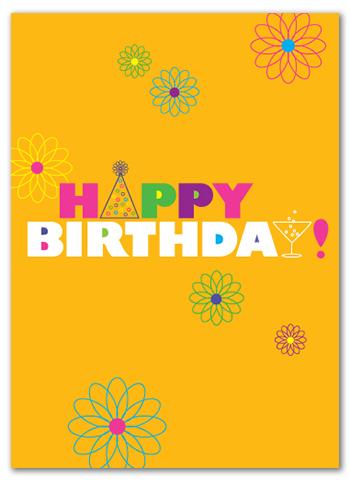 Cabaloona Birthday Card 3530