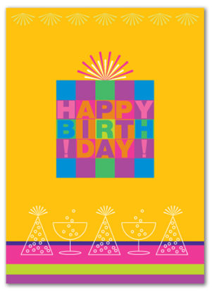 Cabaloona Birthday Card 3533