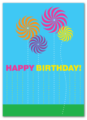 Cabaloona Birthday Card 3535