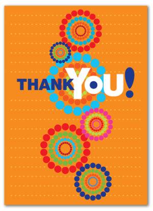 Cabaloona Thank You Card 3544
