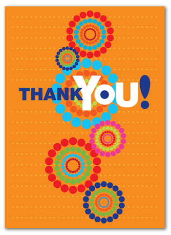 Cabaloona Thank You Card 3544