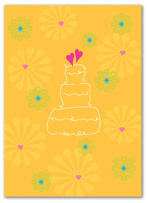 Cabaloona Wedding Card 3551