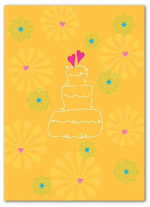 Cabaloona Wedding Card 3551