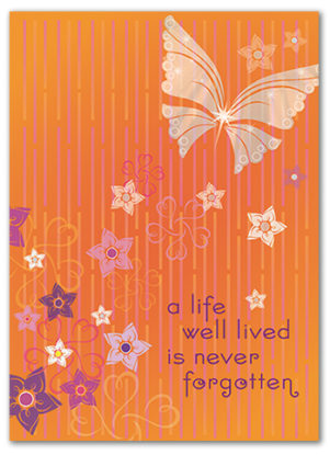 Cabaloona Sympathy Card 3557