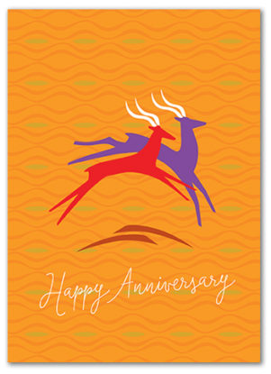 Cabaloona Anniversary Card 3562