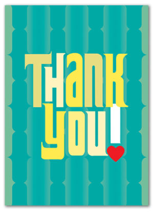 Cabaloona Thank You Card 3564