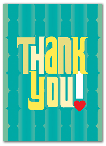 Cabaloona Thank You Card 3564