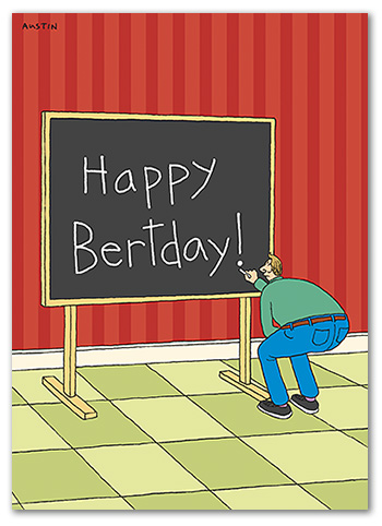 BD239 Snafu Birthday Card