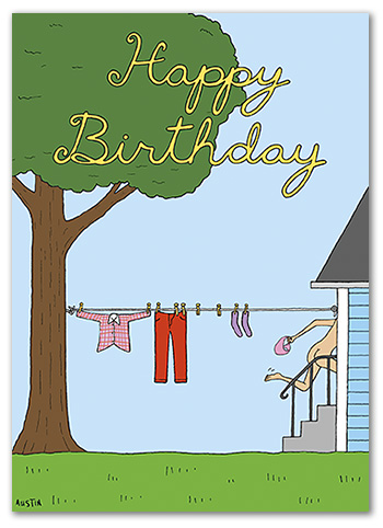 BD240 Snafu Birthday Card