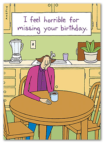 BD241 Snafu Birthday Card