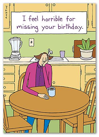BD241 Snafu Birthday Card