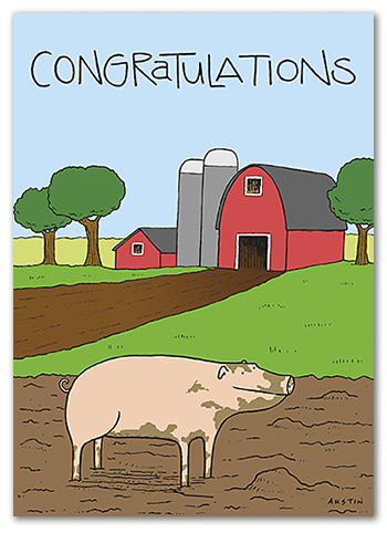 C016 Snafu Congratulations Card