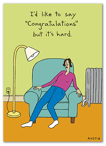 C017 Snafu Congratulations Card