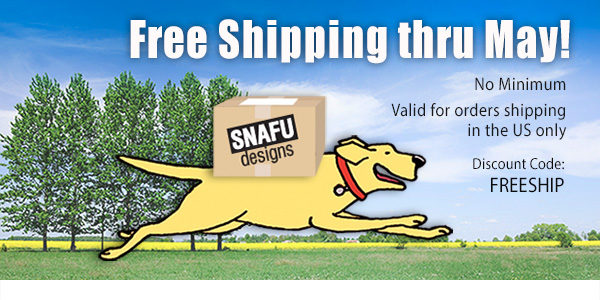 Free Shipping on Snafu Cards through May 2020
